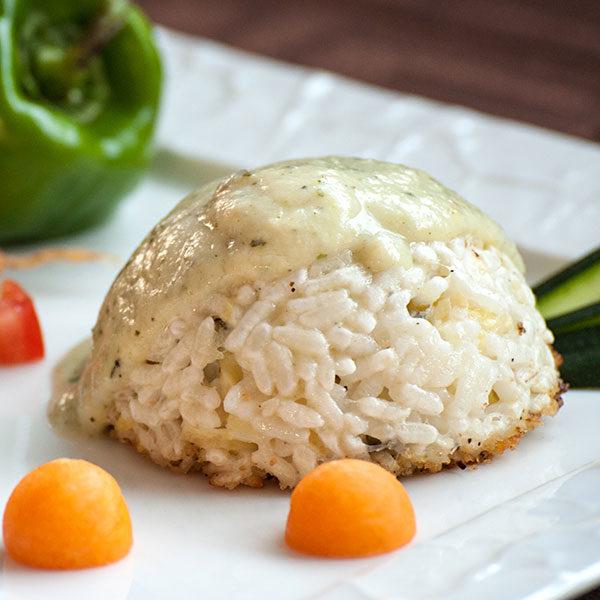 Timballo-di-riso-Vegetariano